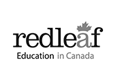 Logo red leaf