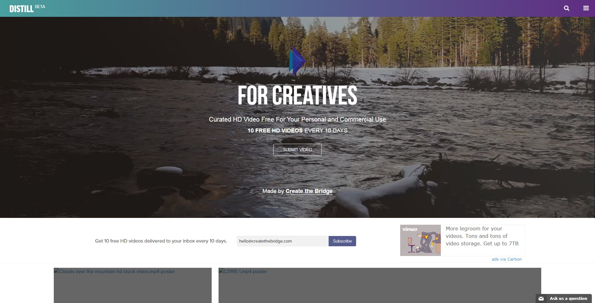 Distill video gratis