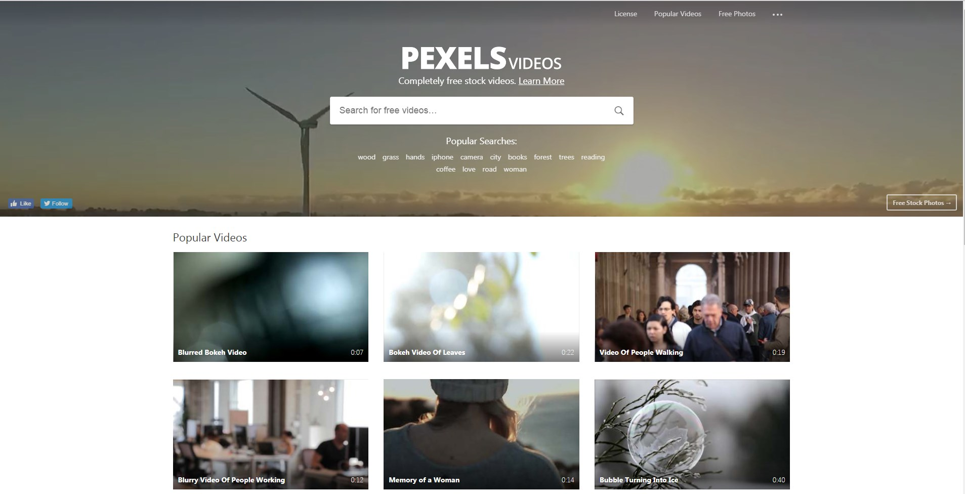 Pexels Video Gratis