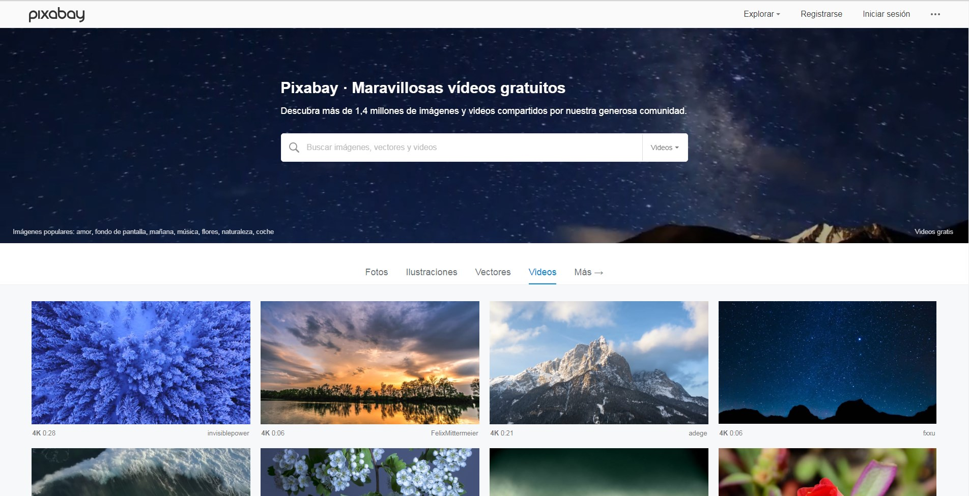 Pixabay Video Gratis